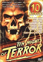 Ten Nights of Terror 10 Movie Pack DVD