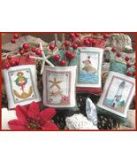 Seaside Christmas cross stitch chart Designs by Lisa - $7.20