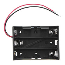 5pcs DC 11.1V 3 Slot 3 Series 18650 Battery Holder Box Case With 2 Leads... - $10.80