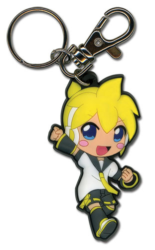 Primary image for Vocaloid Len PVC Key Chain GE3950 *NEW*