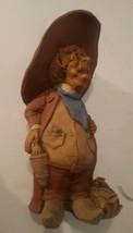 Vintage Frumps Figurine D & D Studios Douglas Harris 1991 Cowboy - $29.69