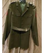 Vintage Dress Alpha Jacket USMC Marine Corps E4 Corporal Size 39L - $37.41