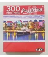 Tropical Caribbean Harbor 300 Piece Puzzlebug Puzzle 2018 CraZArt - $9.49