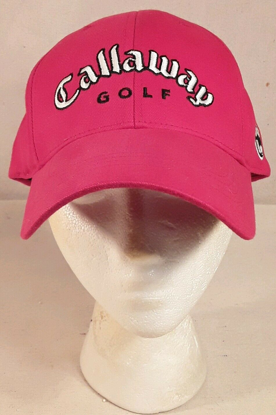 Callaway Golf Sports Hat Cap ~ Red ~ Adjustable ~ Pre-Owned - $15.99