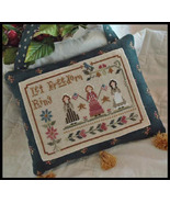 Liberty Belles cross stitch chart Little House Needleworks - $5.40