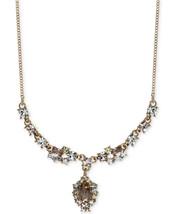 GIVENCHY Austrian Crystal Goldtone Y-Necklace NWT $68 - $33.50