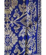 Vintage Metallic Gold Embroidery Museum Brocade... - $247.49