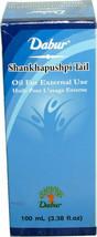3 Pack Dabur Shankhapushpi Oil Tail 100ml Glass Bottle Strength & Muscle - $19.95
