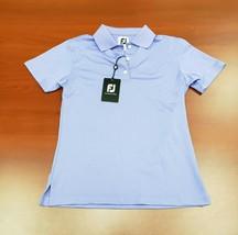 New Womens Footjoy Golf Polo X-Small XS Light Purple MSRP $75 - $33.81