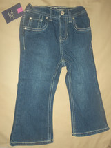 Cherokee Toddler Girls Jeans Bootcut Size 18 Months NWT - $6.30