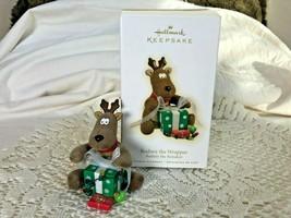 Hallmark Keepsake Ornament Rodney The Wrapper 2009 Reindeer - $13.10