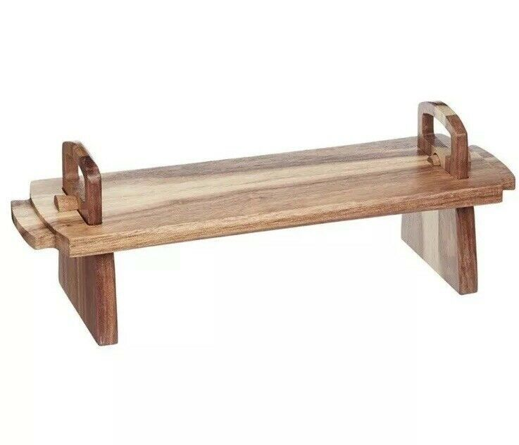 Primary image for Artesa Medium Footed Acacia Wood Serving Board