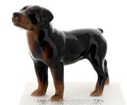 Hagen-Renaker Miniature Ceramic Dog Figurine Rottweiler image 1