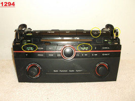 2005...05 Mazda 3 .. AM/FM Radio / Cd PLAYER/FACE Plate Only - $25.50