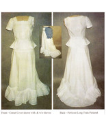Victorian Corset Cover Petticoat Bustle Sewing Pattern (Lmm102) Laughing... - $16.00