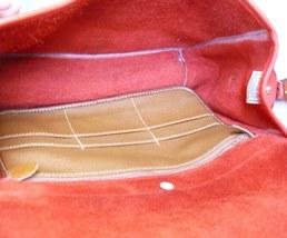 Dooney & Bourke Surrey Watermelon Red AWL Large Messenger Shoulder Bag image 4