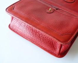 Dooney & Bourke Surrey Watermelon Red AWL Large Messenger Shoulder Bag image 5