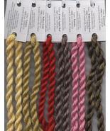 Gloriana Silk Floss Spring Bundle 6 colors NEW NASHVILLE Gloriana Silks - $40.00