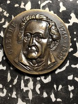 Undated Germany Medal Lot#X4804 ~40mm von Goethe 1749-1832 - $18.70