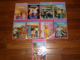 Taffy Sinclair paperback book lot of 9 by Betsy Haynes - $25.00