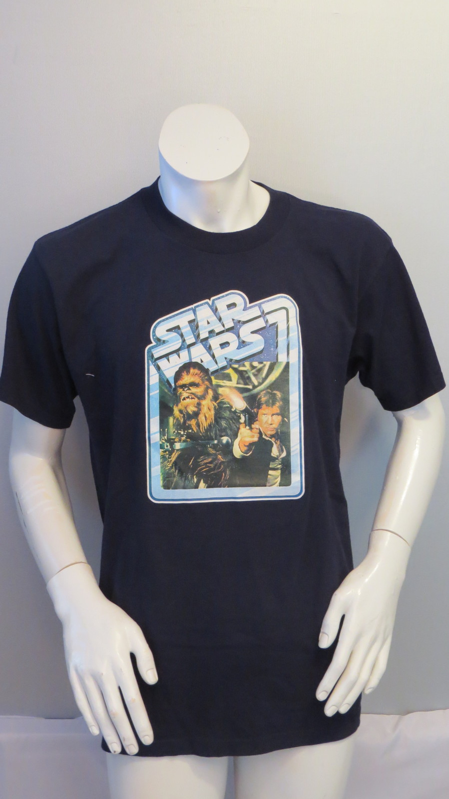 NWT Star Wars Gray Chewbacca Graphic T Shirt Top Sizes S-XL