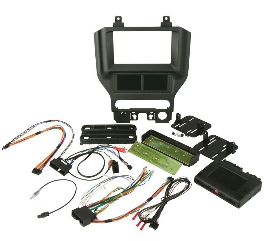 SCOSCHE ITCFD05B 2015 - UP FORD MUSTANG DASH KIT WITH DIGITAL TOUCH SCREEN 2.0