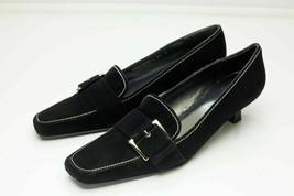 Stuart Weitzman 6.5 N Black Kitten Heels - $98.00