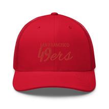 San Francisco hat / 49ers hat / 49ers // Trucker Cap image 10
