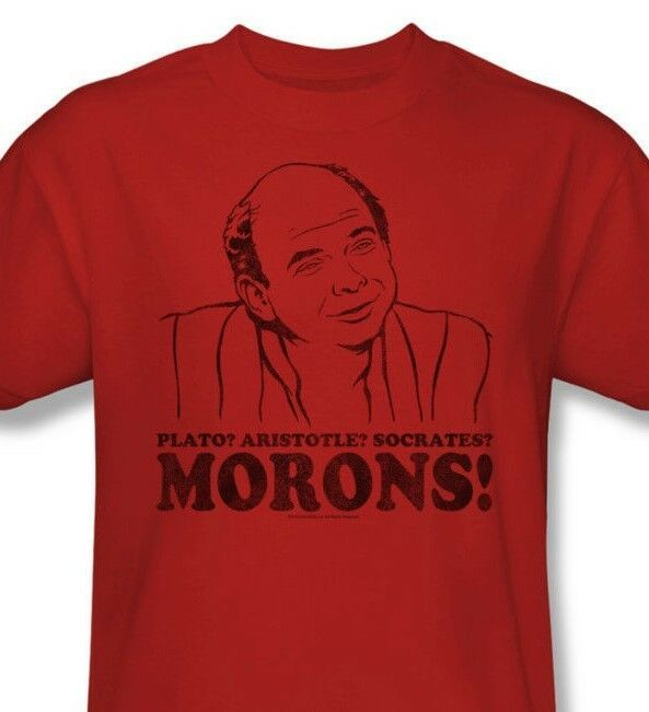The Princess Bride T-shirt Morons 90s comedy movie cotton red graphic tee PB121