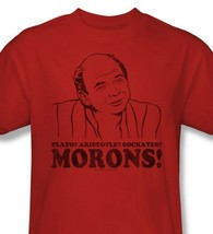 The Princess Bride T-shirt Morons 90s comedy movie cotton red graphic tee PB121 image 1