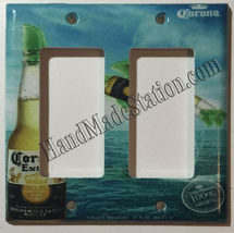 Corona Extra Bottle Beer Logo Light Switch Power Outlet Wall Cover Plate Decor image 2