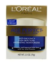L'Oreal Age Perfect for Mature Skin Night Cream 2.5 oz - $12.59