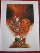 "vintage Boris Vallejo: Steve - 11.5"" x 8.5"" Book Plate Print - $12.00"