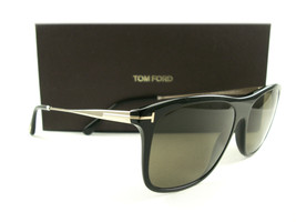 Tom Ford Sunglasses TF588 Max-02 Black Brown 01E FT0588/S New Authentic - $249.00