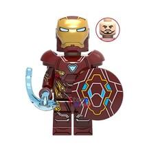 Iron Man Mark 85 (Shield defense) Marvel Avengers Endgame Lego Minifigures Gift - $1.99