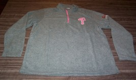 WOMEN'S PHILADELPHIA PHILLIES MLB Baseball PINK PROMO SWEATSHIRT MEDIUM NEW - $29.70