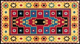 Latch Hook Rug Pattern Chart: Sonora - EMAIL2u - $5.75