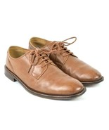 JWN Nordstrom Brown Leather Shoes Oxford Lace Up Dress Casual Mens Size ... - $34.64
