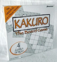 Sudoku KaKuro Game Puzzle Crossword Numbers Difficulty Levels Travel Sealed New - $19.79