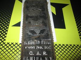 Gettysburg 50 Year Reunion Memorial Ribbon W/ Pin 1863-1913 - $116.88