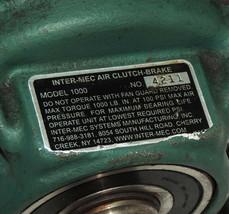 INTER-MEC MODEL 1000 AIR CLUTCH-BRAKE, SERIAL: 4211 image 2