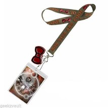 """Doctor Who Lanyard """"Bow Ties Are Cool"""" with 2D Bow Tie Charm & Girl Who Waited"""