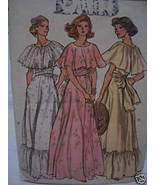 Lawn/Garden Wedding/Prom Dress Pattern- 1970's Bust 36 - $8.99
