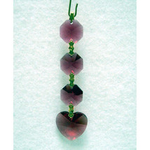 Heart Crystal Chain image 1