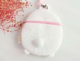 Molang Cosmetic Makeup Pen Strap Pouch Bag Case (White) image 7
