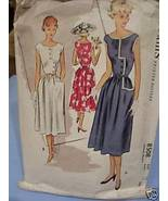 """""""Sunday Afternoon"""" Style 1950's Dress Pattern - Bust 31 - $7.99"""