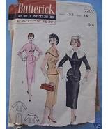 Vintage '50's 2-Pc Suit/Slim Skirt/Fitted Jacket 14/32 - $7.99