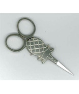 "Pineapple Silver 3"" small embroidery scissors U... - $14.40"