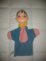 Vintage Plastic And Cloth Hand Puppet Pinocchio Videocraft 1962 - $14.01