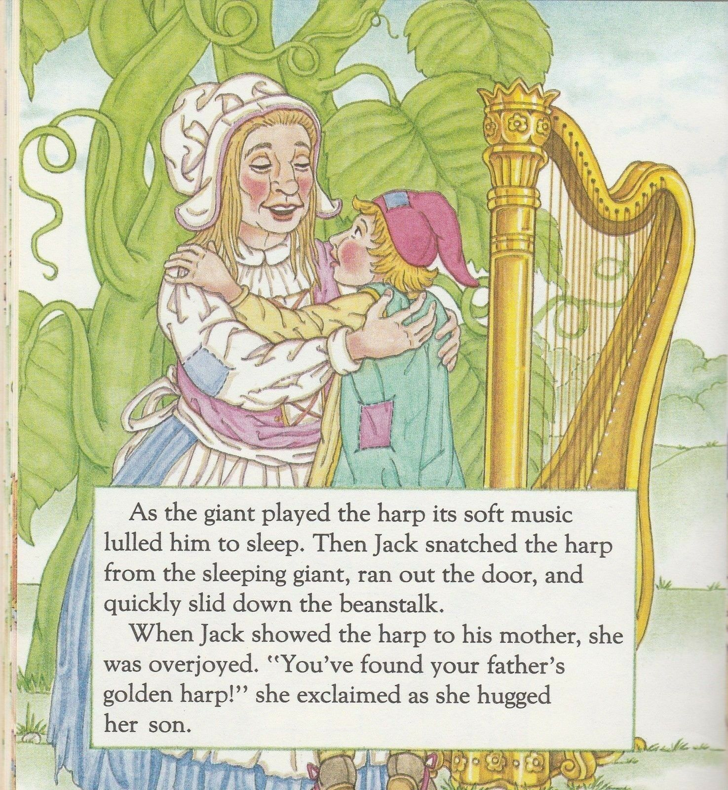 Jack and the Beanstalk by Michael Teitelbaum A Golden Little Look Look Book 1990